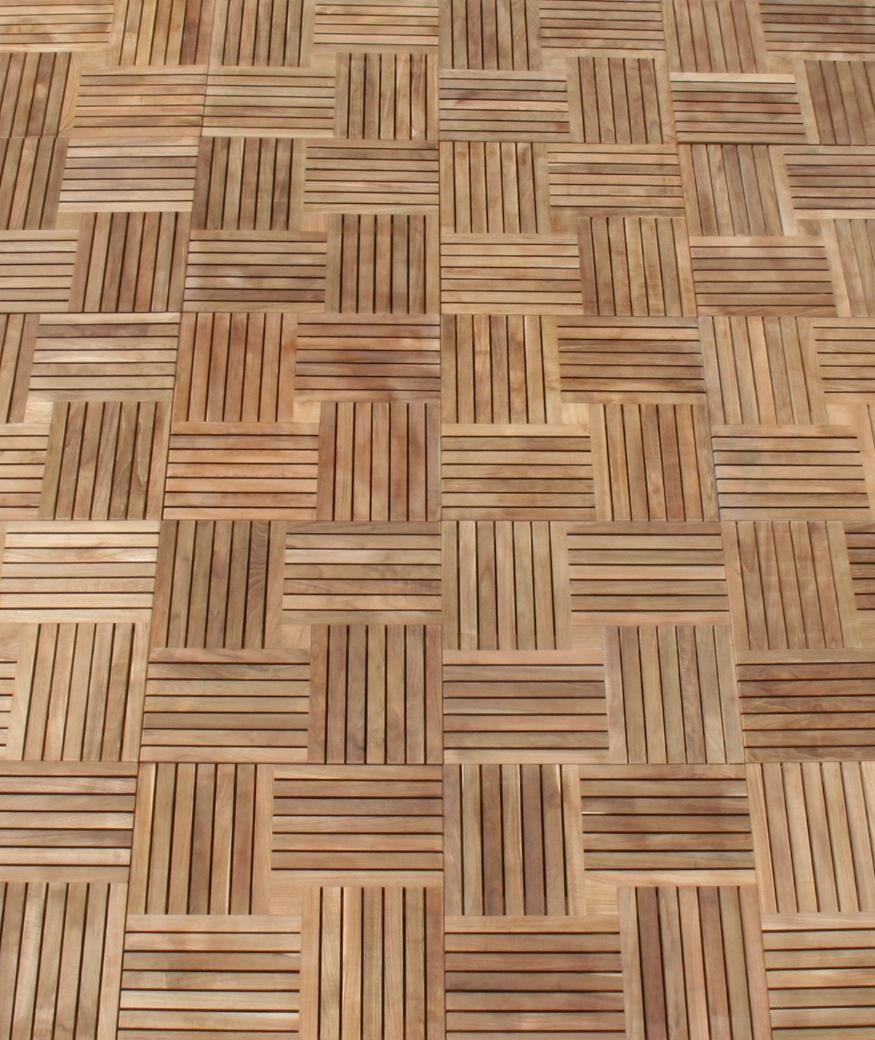 Our Parquet Teak Tiles ...