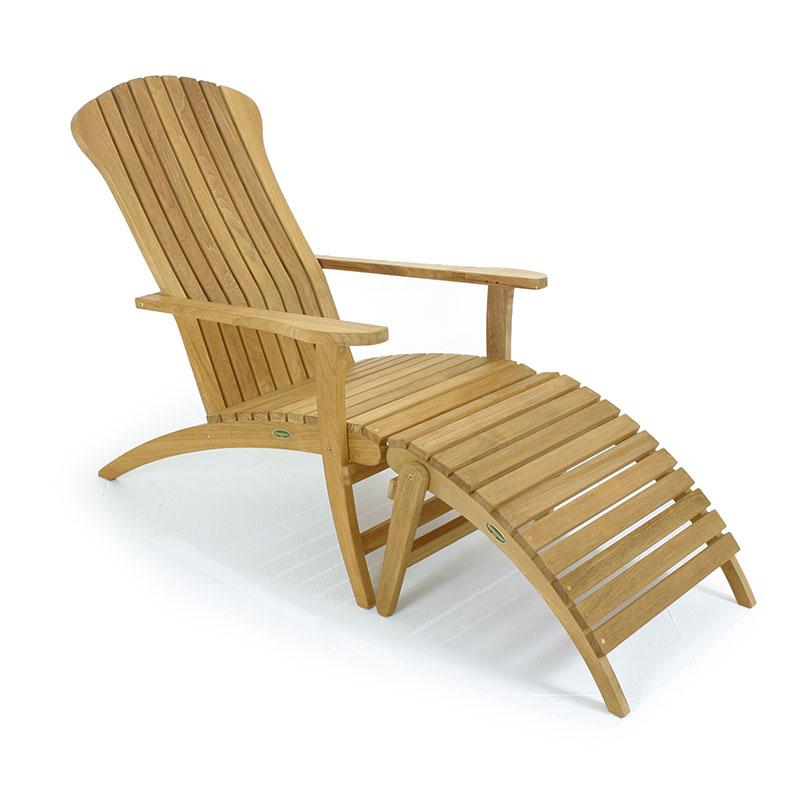 Teak wood adirondack chair westminster teak outdoor for Teak adirondack chairs design