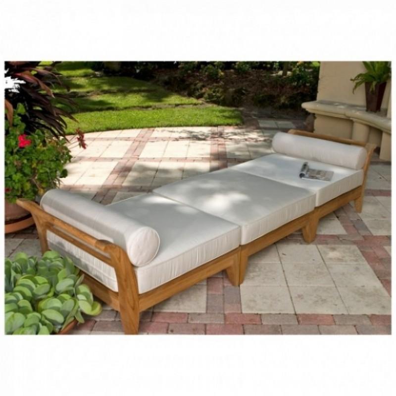 teak deep seating sectional daybed westminster teak outdoor furniture. Black Bedroom Furniture Sets. Home Design Ideas