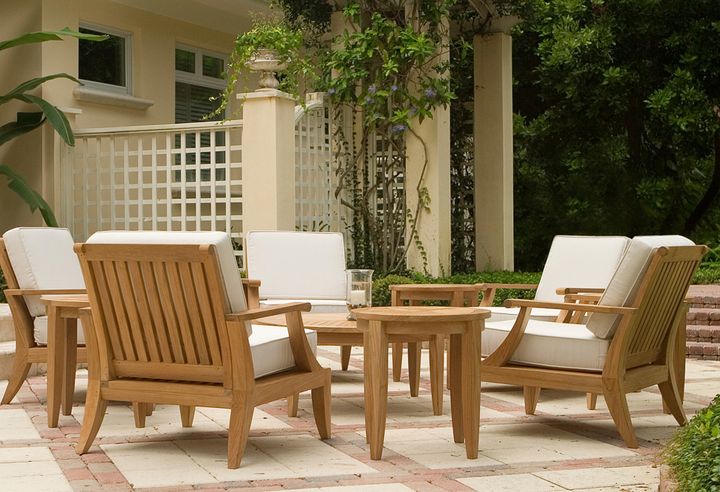 The Laguna 11 Pc Teak Lounge Set ...