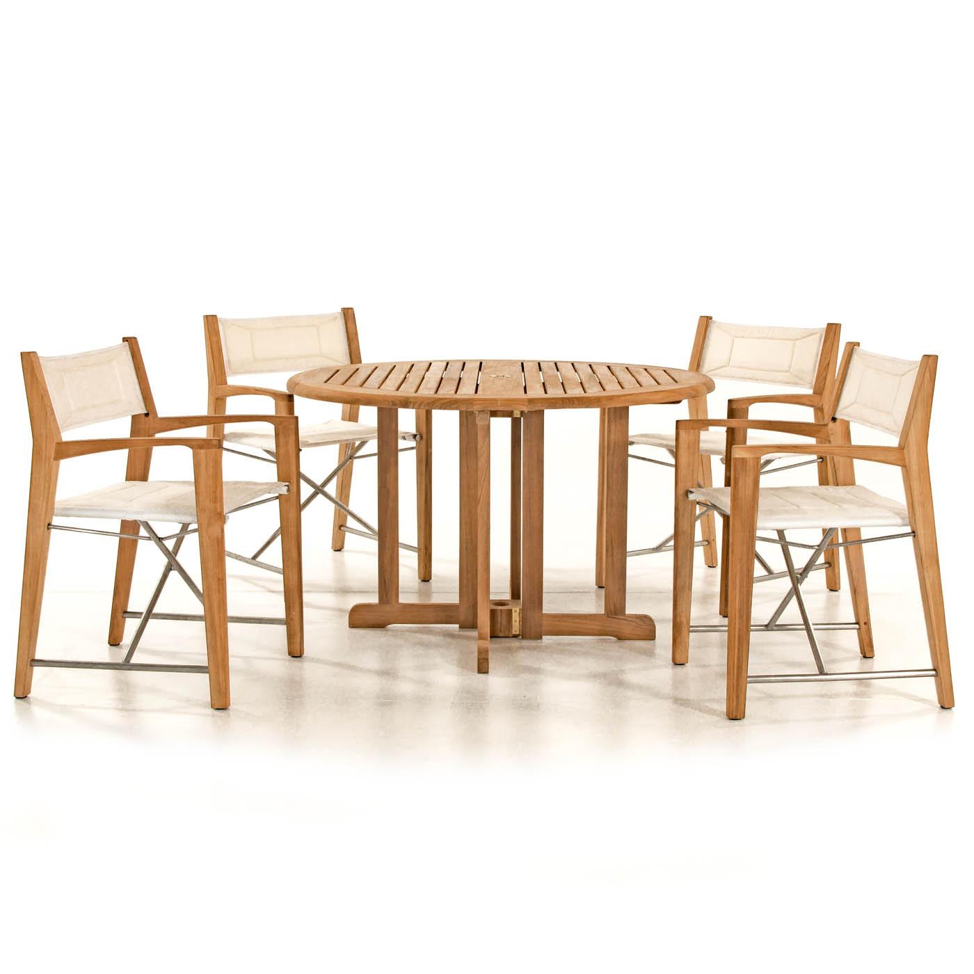Folding Teak Patio Dining Set Westminster Teak Outdoor